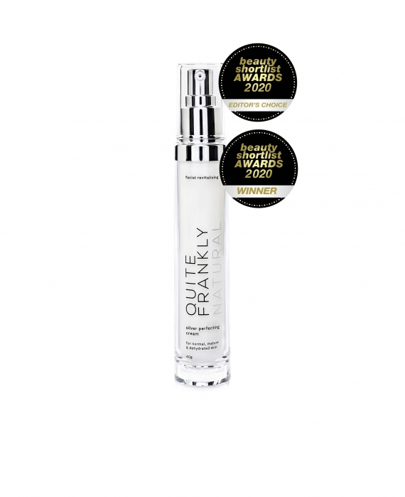 Facial Revitalising Silver Perfecting Cream - Quite Frankly Natural