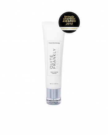 Facial Revitalising Daily Foaming Cleanser - Quite Frankly Natural